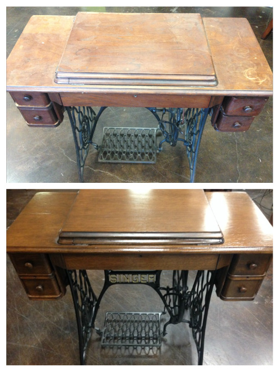 Attractive Antique Veneer Restoration