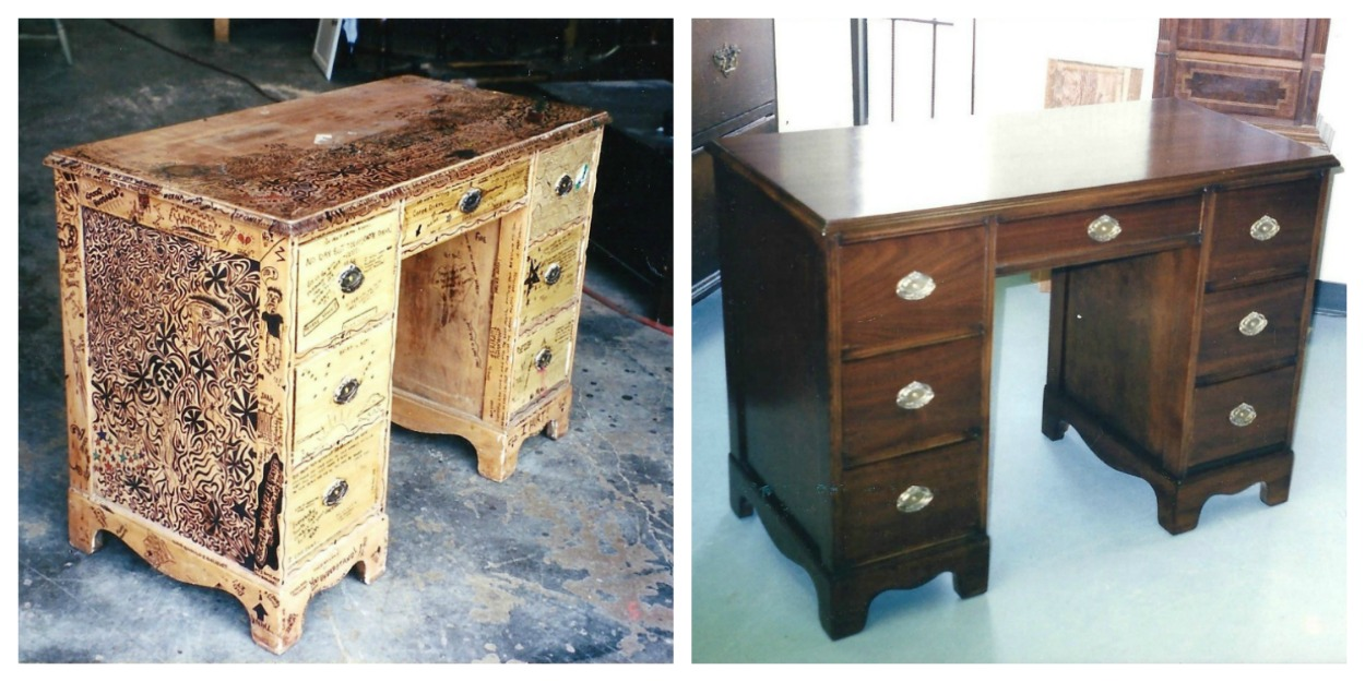 Antique Trunk Refinishing - Furniture Refinishing Wood Furniture Refinishing Fort Worth TX