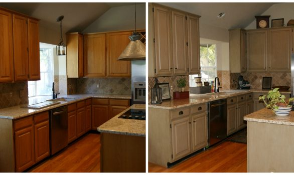 Fort Worth Kitchen Cabinets Refinished