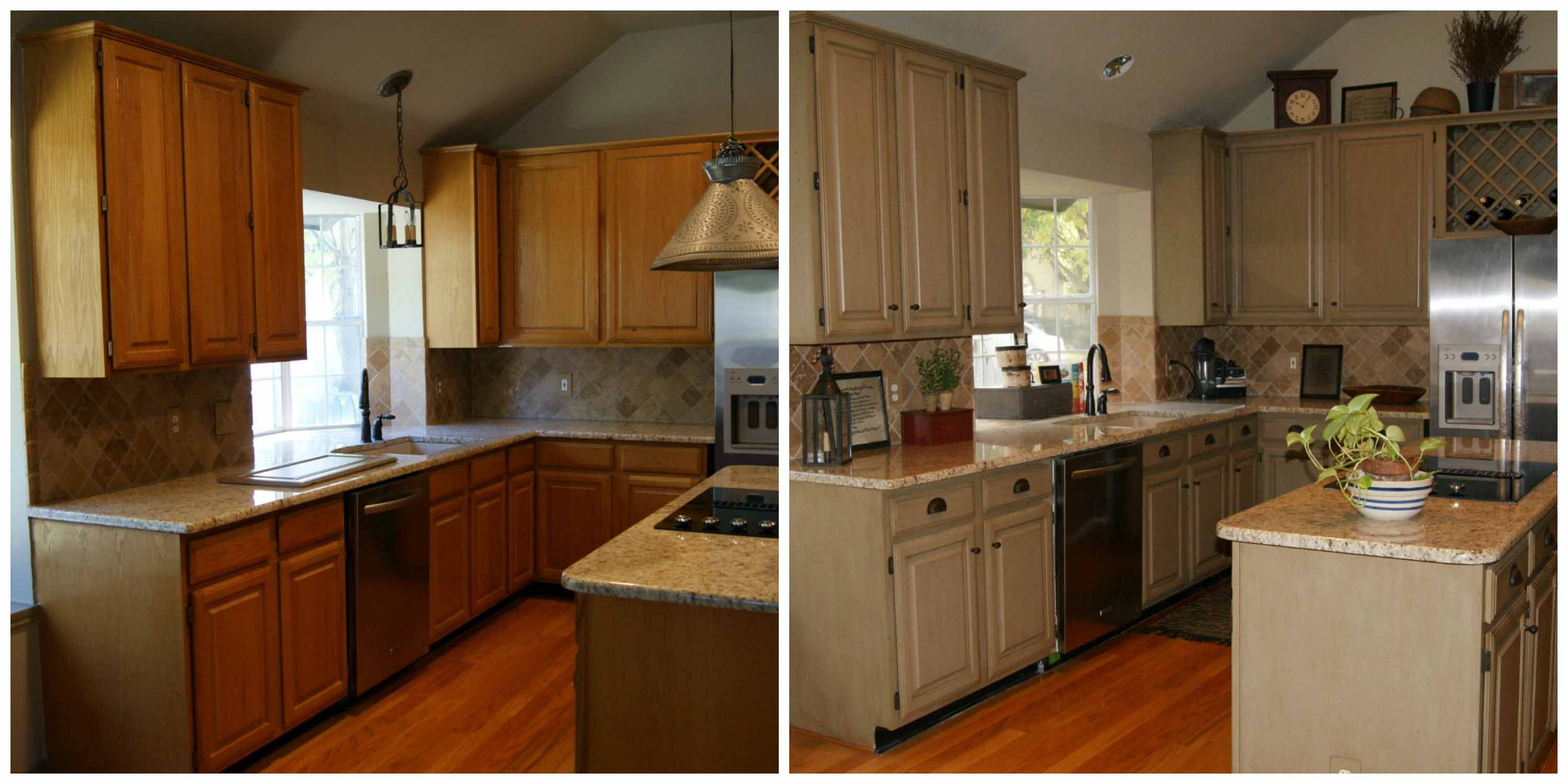View Our Grapevine Kitchen Cabinet Refinishing Before U0026 After Pictures U0026  Video. Image. Image
