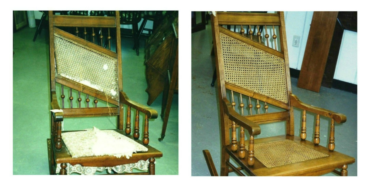 chair caning wicker chairs repair fort worth tx