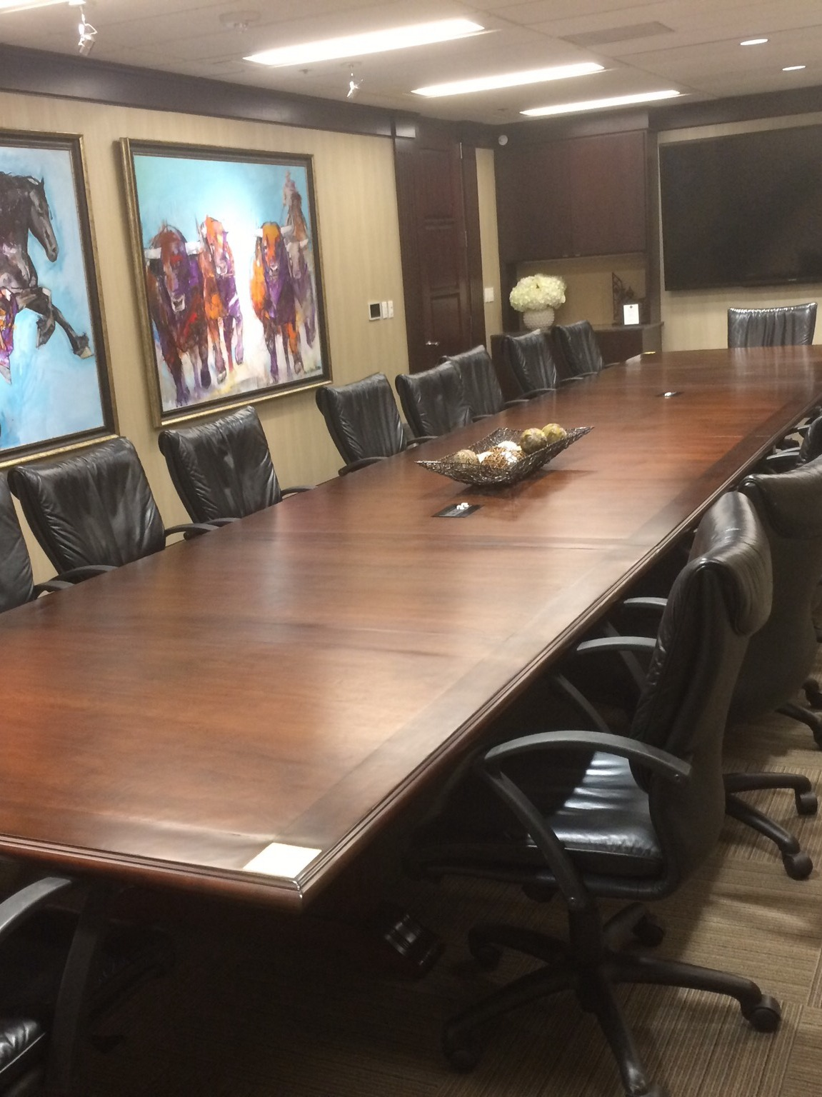 Conference Table Refinishing Office Furniture Repair