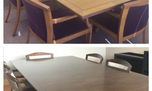 Conference Table Refinishing In Fort Worth | Conference Table Refinishing In DFW