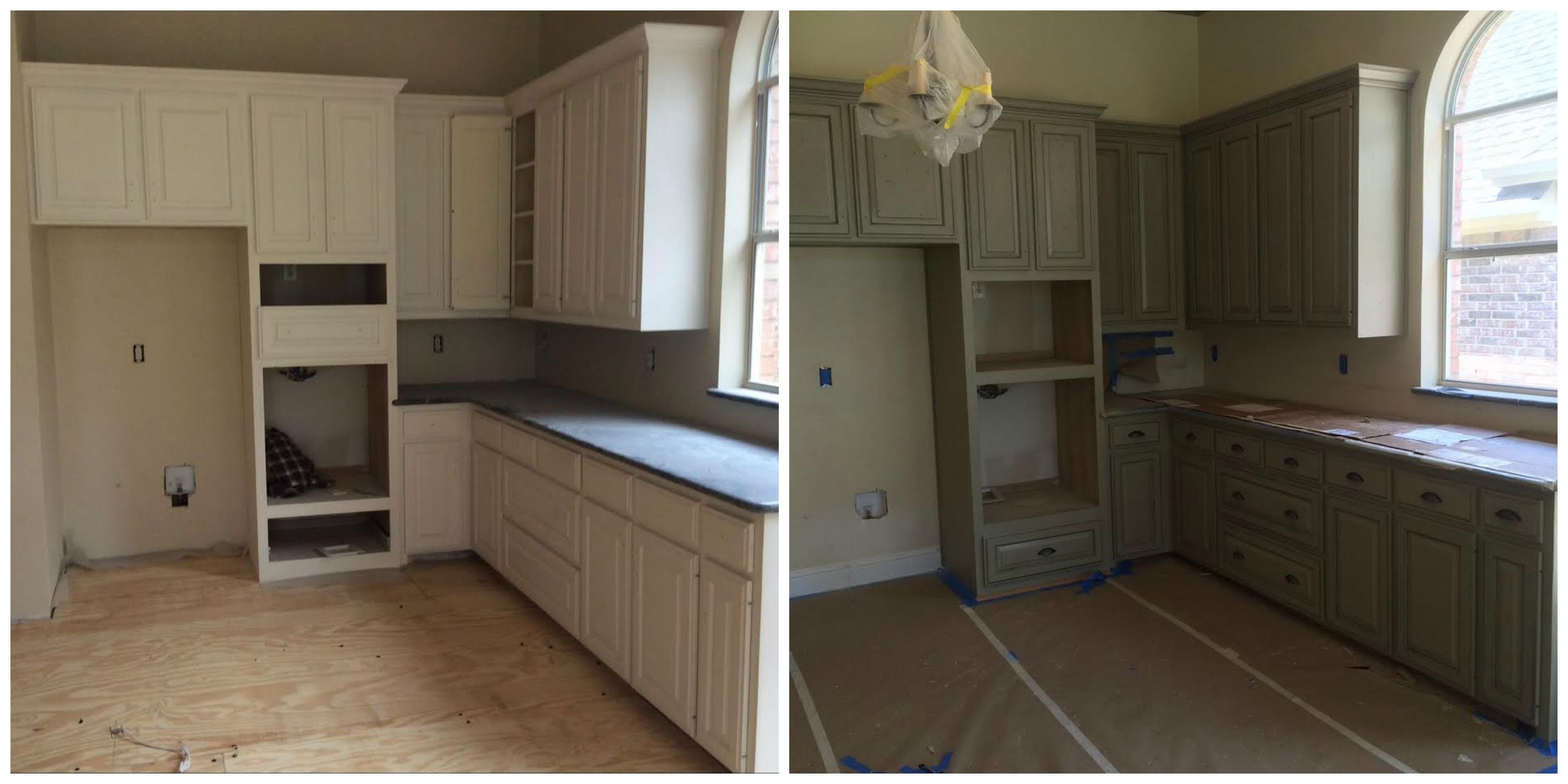 cabinet kitchen old and rustic paint refinishing before cabinets entity after wood